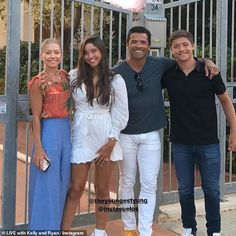 Kelly Ripa Daughter, To My Daughter, Celebrity Couples, Celebrity Children, Mark Consuelos, Rob Lowe, People Videos, Dance Routines, People Magazine