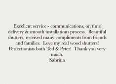 We love hearing from our clients and so happy to share their feedback! ✨ #ttshutterco #happy #client #customer #feedback #interior #shutters #custommade #handcrafted #design #manufacture #delivery #installation #woodshutters #london #home #bespoke #windowtreatments #ideas #interiordesign #newhome #house #decor #interiordesigner #inspiration ✨ Interior Shutters, Wood Shutters, Customer Feedback, Real Wood, Bespoke, Compliments, New Homes, Delivery, London