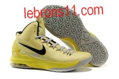 timeless design 45205 c1895 Authentic Nike Zoom KD V 5 ID Tartrazine Yellow Black 554988 700 Kevin  Durant Shoes 2012 For Wholesale