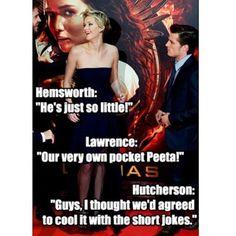 The Hunger Games Explorer. Haha, Pocket Peeta, more like Peeta Pocket if you catch my drift.