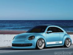 5 Exterior Accessories to Get First for Custom VW Beetle Volkswagen New Beetle, Beetle Bug, Vw Beetles, Volkswagen Golf, Vinyl Wrap Car, Cars Usa, Futuristic Cars, Sweet Cars, Car Pictures
