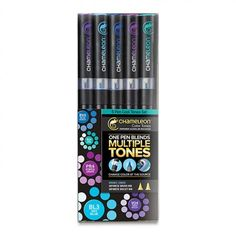Cool Tones, Set of 5