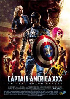 CAPTAIN AMERICA XXX 2 DISC COLLECTORS EDITION