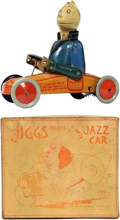 Nifty Jiggs Jazz Car