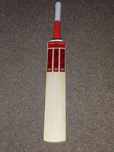 Red Cricket Bat | Solitaire Cricket
