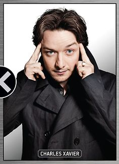 Charles Xavier played by James McAvoy  in X-men First Class