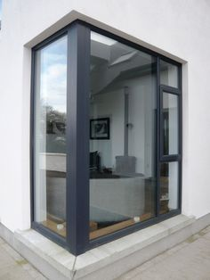 anthracite grey upvc windows smooth finish - Google Search