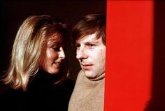 Roman Polanski & Sharon Tate, London, photo by Hatami.