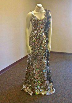16 Mejores Imágenes De Vestidos De Reciclaje Vestido De
