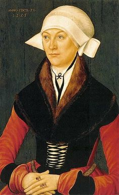 1525 Unknown Geman artist A Woman