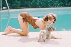 Natalie Wood Swimsuit Barefoot By Pool Poodle Dog 24X36 P... https://www.amazon.com/dp/B00LIXWMHM/ref=cm_sw_r_pi_dp_U_x_W.SoAbW6AAZZM