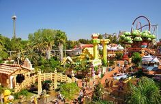 Portaventura Park, Barcelona  15 Amusement Parks You Need To Visit Before You Die • Page 2 of 5 • BoredBug