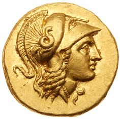 Kingdom of Macedon, Alexander III, The Great. Gold Stater (8.61 g, 10h). 336-323 BC Uncertain mint in Greece or Macedonia,… / MAD on Collections - Browse and find over 10,000 categories of collectables from around the world - antiques, stamps, coins, memorabilia, art, bottles, jewellery, furniture, medals, toys and more at madoncollections.com. Free to view - Free to Register - Visit today. #Coins #Gold #Ancient #MADonCollections #MADonC Alexandre Le Grand, Coin Design, Bottle Jewelry, Ancient Roman Coins, Coin Art, Gold And Silver Coins, Antique Coins, Gold Bullion, Greek Art