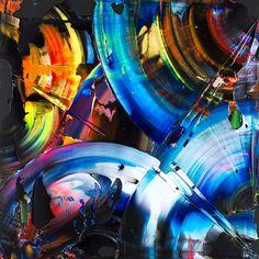 """Untitled, 60x60, acrylic on canvas, 2015 #alexkuznetsov #acrylic #canvas"""