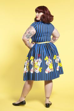 Plus Size Doctor Who TARDIS Off Shoulder Swing Dress Torrid