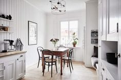 A Swedish home with inspiring ideas for tight spaces | my scandinavian home | Bloglovin'