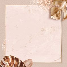 Square gold frame with metallic monstera leaf background vector | premium image by rawpixel.com / Adj Framed Wallpaper, Flower Background Wallpaper, Frame Background, Flower Backgrounds, Background Patterns, Iphone Wallpaper, Flower Graphic Design, Rose Gold Frame, Instagram Frame