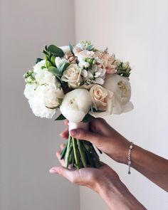 35 Beautiful Bridal Bouquet Arrangement for wedding flower; - 35 Beautiful Bridal Bouquet Arrangement for wedding flower; Hand Bouquet Wedding, Summer Wedding Bouquets, Floral Wedding, Hand Tied Bouquet, Wedding Dresses, Bride Flowers, Bride Bouquets, Wedding Flowers, Wedding Day