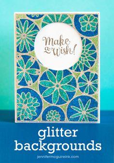 Glitter Background Video by Jennifer McGuire Ink