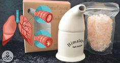 Instructions to Inhale Himalayan Pink Salt to Help Remove Mucus, Bacteria and Toxins from your Lungs - Health Tips Magazine Himalayan Salt Benefits, Himalayan Salt Lamp, Herbal Remedies, Natural Remedies, Cough Remedies, Salt Inhaler, Back To Nature, Healthy Tips, Healthy Food