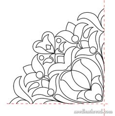 Hand Embroidery Pattern: Hungarian Design #6