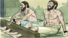 Paul and Silas praise God in prison http://www.fivefoldministryireland.com