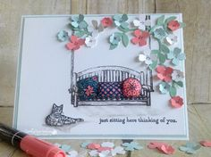 Thinking of You...details @http://ramblingrosestudio.com/thinking-of-you-6/