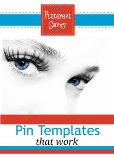 I'm so excited about this - 12 pin templates you can make in PicMonkey! #pinterest