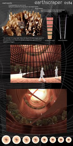 Architecture and Design Magazine for the Century. Organizer of the Annual Skyscraper Architectural Competition. Architecture Magazines, Futuristic Architecture, Classical Architecture, Facade Architecture, Concept Architecture, Landscape Architecture, Underground Building, Underground Cities, Architectural Section