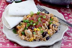 Very good recipe, and pretty simple. Serve with sour cream and tortillas. Southwestern Chicken