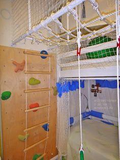 Домашние джунгли - Спортивная комната Олеси Шаниной