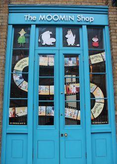 The Moomin Shop by PLANarama Moomin Shop, China Cabinet, Lockers, Locker Storage, Life Hacks, Europe, Furniture, Shopping, Home Decor