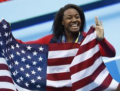Simone Manuel became the first Black woman to win individual gold in swimming   Essence.com