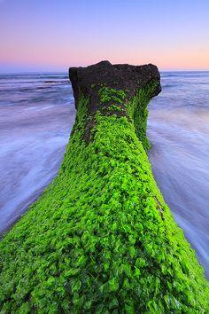 Green rock, Seseh Beach, Canggu, Bali