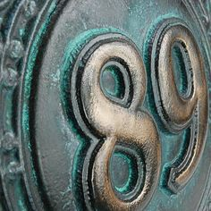 Fancy Schmancy 2 Number 3D Sign | Atlas Signs and Plaques 3d Signs, Fancy Schmancy, Numbers, Bronze