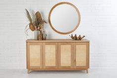 Our Pacific Rattan Buffet is a stunning solution to everyday storage needs. Equally at home in a lounge, dining or entry, this buffet is a welcome addition to any home or office. Styling A Buffet, Lounge Decor, Furniture Hardware, Light Oak, Fashion Room, Rattan, Home Decor Inspiration, Room Decor, House Styles