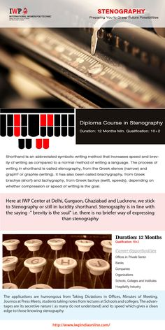 #See  our #latest   #blog   #posts #here  - http://www.blog.iwpindiaonline.com/stenography-institute-gurgaon/