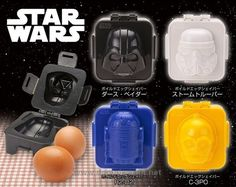 Star Wars Egg Mold, Egg Shapers Collection