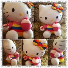 Hello Kitty With Cupcake
