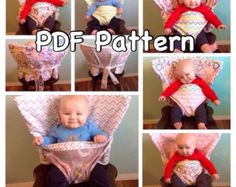 The Portable Anywhere Highchair Custom by picketfencecreation