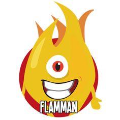 Bild på Flamman i en rund cirkel