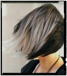 62 fantastiche immagini su capelli bianchi e grigi  363d36e362af