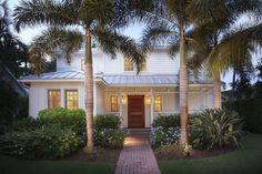 Naples, FL coastal cottage beach house tour