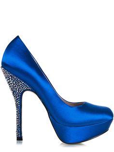 Love the royal blue!