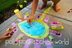 Polly Pocket Chalk World...
