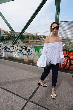 #fashion #photo #bridge #streetstyle #boho #blouse