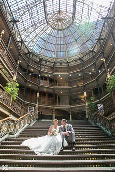 The Arcade Cleveland Ohio // ThornCreek Winery Wedding in Aurora Ohio /// Shana and Jimmy