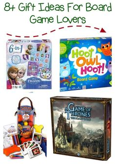 Games gift guide - great gift ideas for board or tabletop game lovers OR games to use as christmas eve family game night.