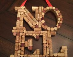 Snowflake Christmas Ornaments from Upcycled Corks door LiteraryCork
