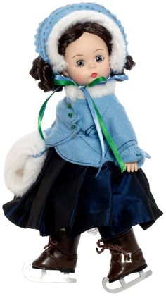 "Madame Alexander Dolls 8"" Beth Goes Ice Skating (Little Women Collection), Dolls & Accessories - Amazon Canada"